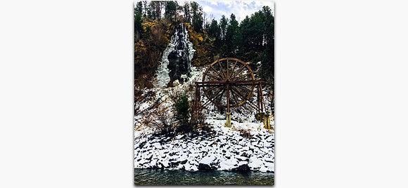 Charlie Tayler Waterfall Wheel Winter