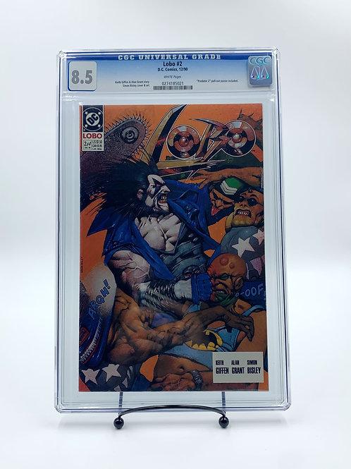 Lobo #2 D.C. Comics, CGC 8.5