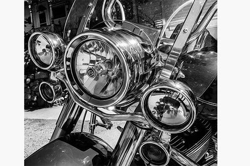 Harley Davidson Abstract