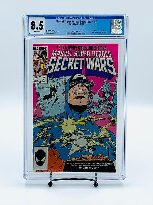 Marvel Super Heroes Secret Wars #7 CGC 8.5
