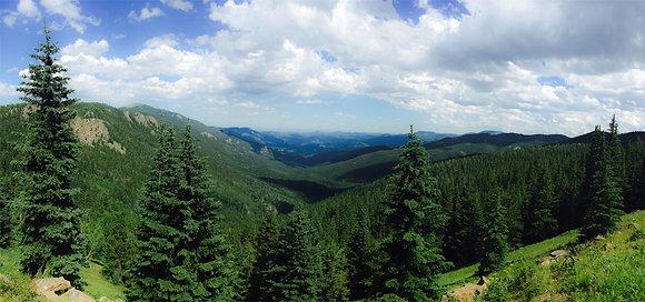 Mountain View Colorado Canvas