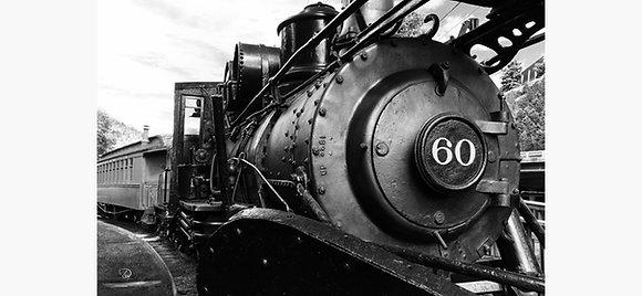 Train 60 Idaho Springs Canvas