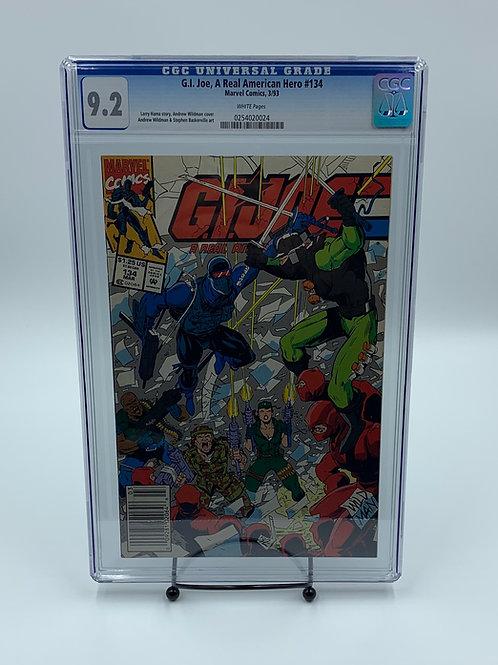 G.I. Joe, A Real American Hero #134 Marvel Comics CGC 9.2
