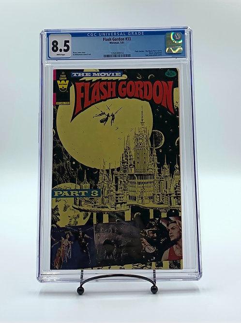 Flash Gordon #33 Part 3 CGC 8.5 Vintage