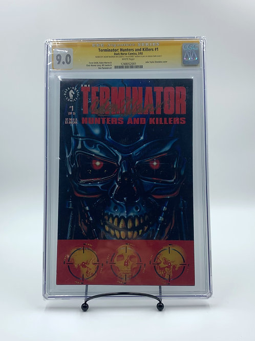 Terminator Hunters and Killers #1 Signed By Adam Warren