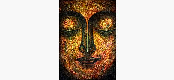 Buddha Art Large Canvas