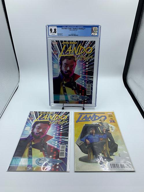 Star Wars: Lando-Double or Nothing #1 Marvel Comics CGC 9.8 Plus Reader Bundle
