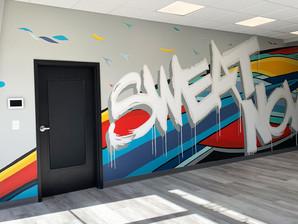 Sweat Wall Murals