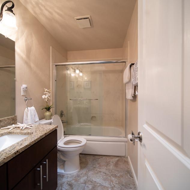 Updated hallway bathroom