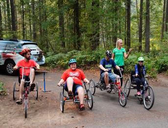 Adaptive Bike Ride
