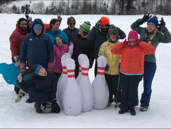 TRAILS Snow Bowling