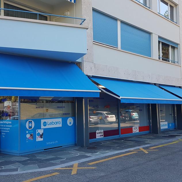 Stores Toiles de commerce - Versoix 2017