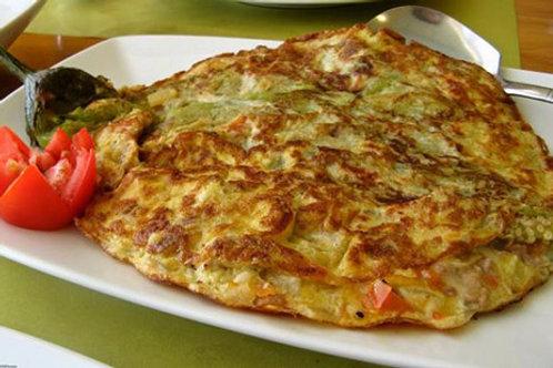 Mini Tortilla De Berenjena