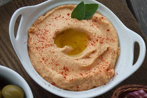 Hummus Con Pimientos Rostizados