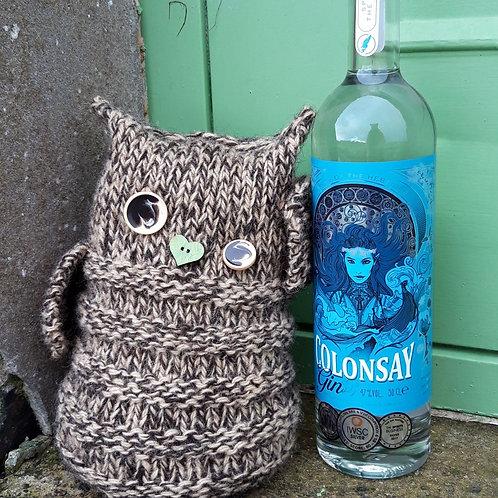 PSY TIPSY Owl Doorstop Knitting Kit