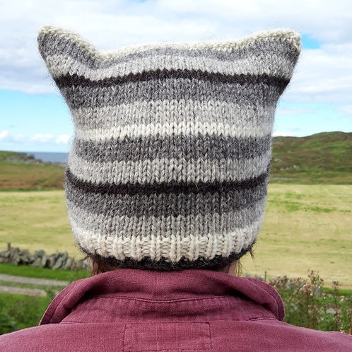 Knitted Colonsay Square Hat