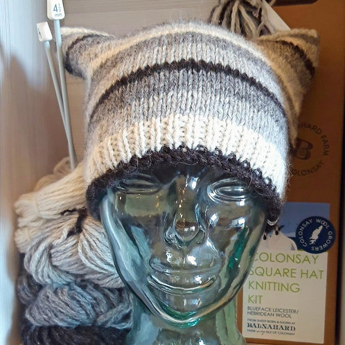 Colonsay Square Hat Knitting Kit