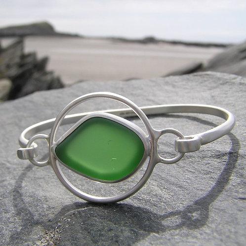 Sea-glass Bangle
