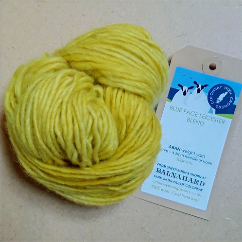 Plant Dyed ARAN weight
