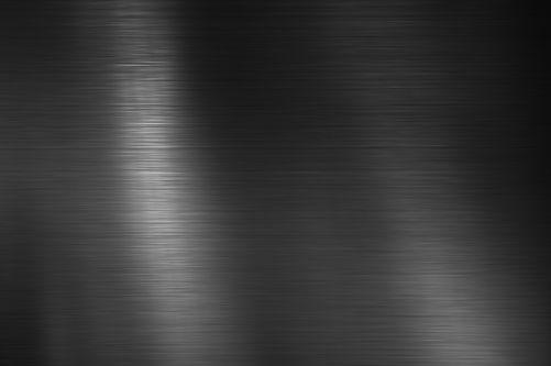 Black Stainless steel texture metal back