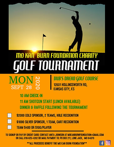 Copy of Charity Golf Tournament Poster T