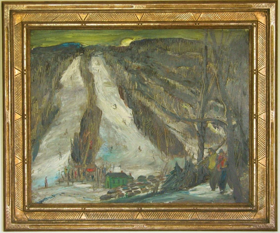 Walter Schofield Painting