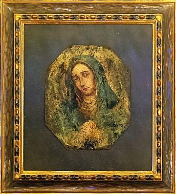 P.H. Miller Frame on Mary Image