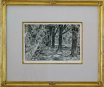 """Hassam-Style Initial """"H"""" Frame"""