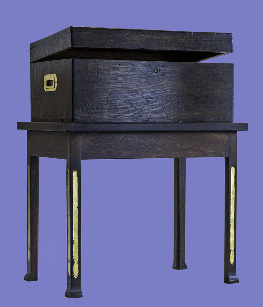 P.H. Miller Studio-Made Box Table