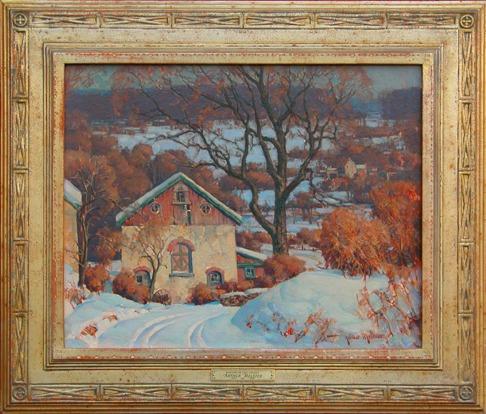 Snowscape by Arthur Meltzer