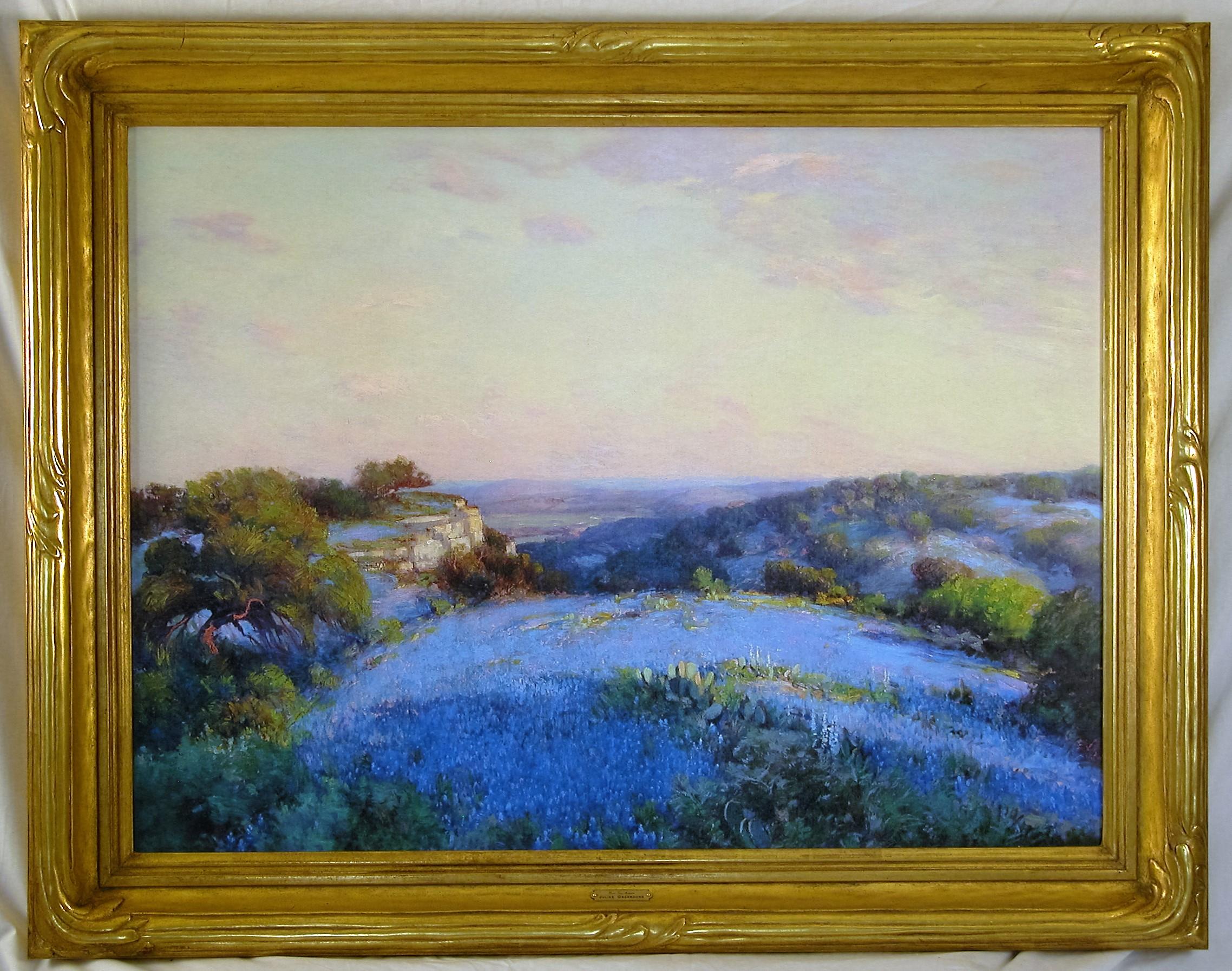 P.H. Miller frame on Blue Bells.