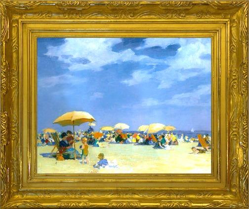 P.H. Miller Frame Am. Art Nouveau