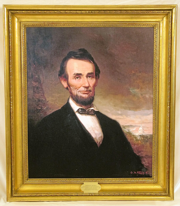 Honest Abe's Portrait Frame