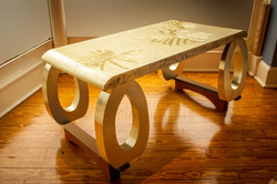Split-Leaf Philodendron Coffee Table