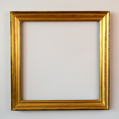 Modern Sully style with ogee panel. Water gilded