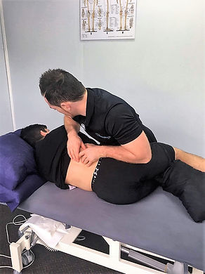 Lower back pain - soft tissue release
