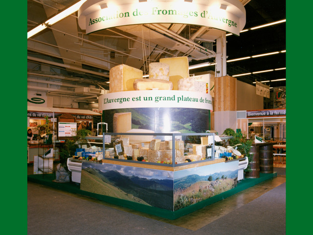 Stand Fromages d'Auvergne