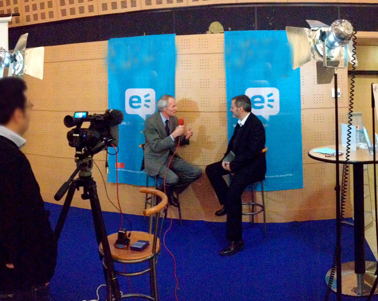 Plateau TV meeting Medef