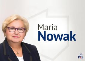 Le Crédit Mutuel et son Président Henri Gauffriau accueillent Maria Nowak