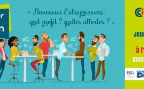Table ronde : Petit déjeuner de la Création - Nouveaux entrepreneurs : quel profil ? quelles attente