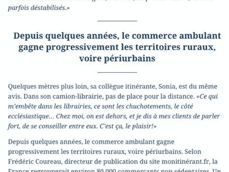 Le Figaro parle de Pile Ici et du commerce de proximité !