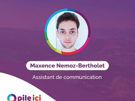 Présentation de l'équipe Pile Ici | Maxence