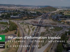 Travaux A75 : APRR à la rencontre des entreprises de Clermont-ferrand