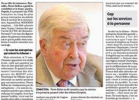 Quant Pierre Bellon, leader Mondial à la tête de 320 000 collaborateurs, partage son expérience...
