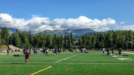 A Football Season in Review Through the Players and Coaches: South Anchorage High School
