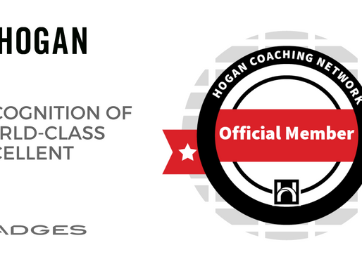 Hogan Coaching Network - Badge of Excellent