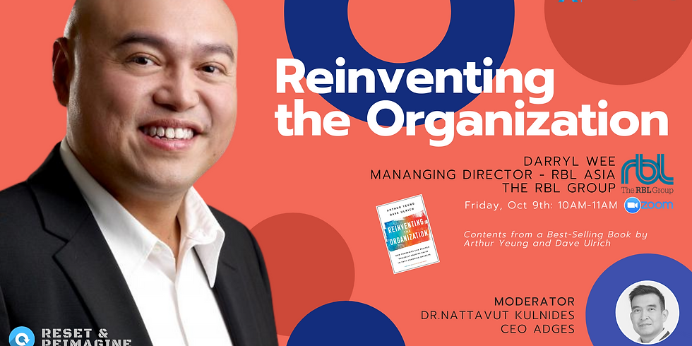ADGES & Partners Event: Reinventing the Organization