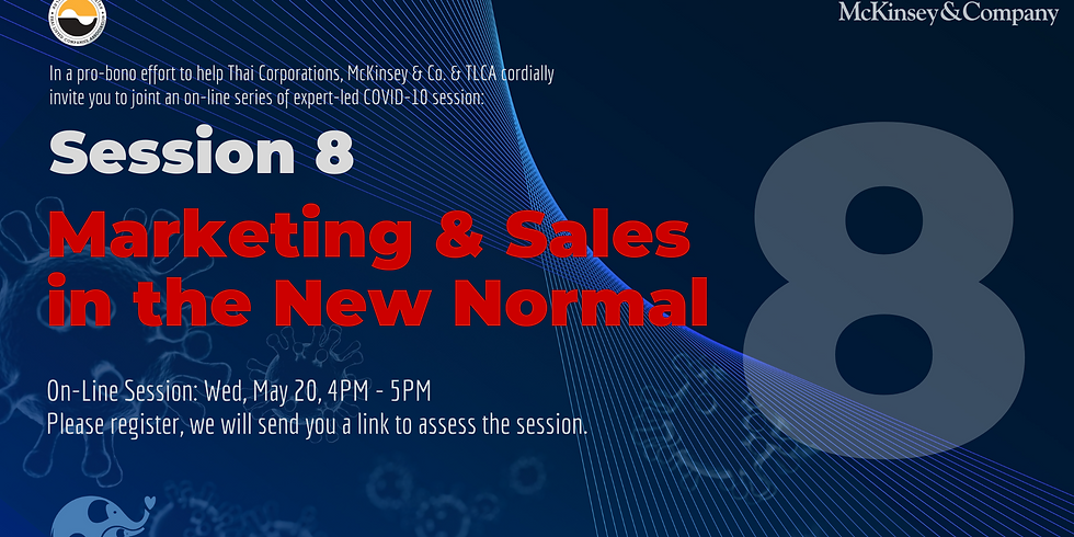McKinsey & Co. Session 8: Marketing & Sales in the New Normal!