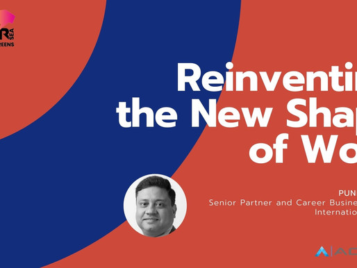 The New Shape of Work: Reinventing for the Future