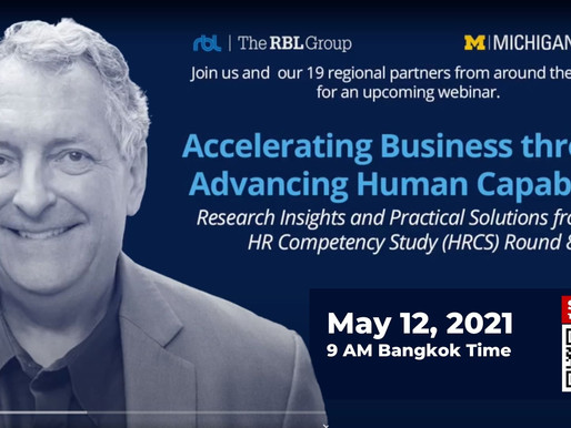 Accelerating Business through Advancing Human Capability Invitation by Dave Ulrich